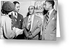 Civil Rights Activists Greeting Card
