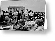 Civil Rights Occupiers Greeting Card