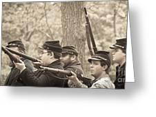 Civil War 3 Greeting Card