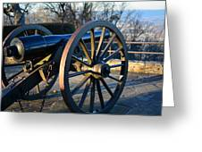 Civil War Cannon Greeting Card