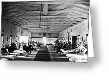 Civil War: Hospital, 1865 Greeting Card