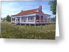 Civil War House Mansfield Louisiana Greeting Card by Lenora  De Lude