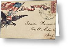 Civil War Letter 18 Greeting Card