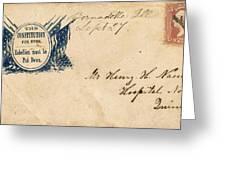 Civil War Letter 25 Greeting Card