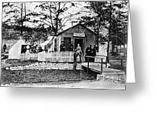 Civil War: Military Hospital Greeting Card
