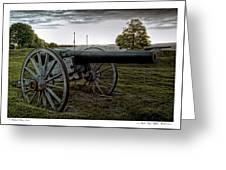 Civil War Rifles Greeting Card