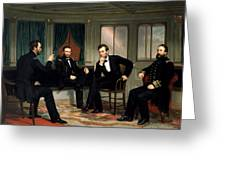Civil War Union Leaders -- The Peacemakers Greeting Card