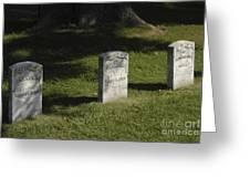 Civil War Unknown Dead Greeting Card