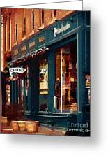 Claire's On College Street Greeting Card
