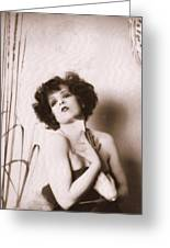 Clara Bow Greeting Card