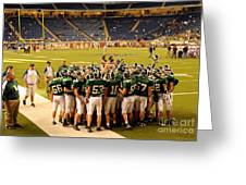 Clare Pioneers At Ford Field Greeting Card