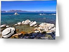 Clarity - Lake Tahoe Greeting Card