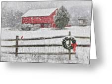 Clarks Valley Christmas 2 Greeting Card