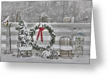 Clarks Valley Christmas 3 Greeting Card by Lori Deiter