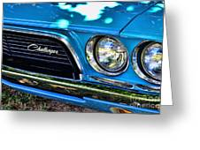 Classic 1974 Dodge Challenger Greeting Card