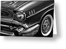 Classic '57 Chevy Greeting Card