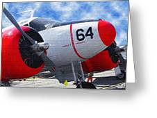 Classic Aircraft Greeting Card