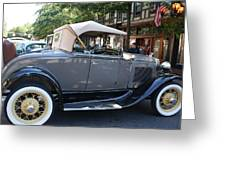 Classic Antique Car - Ford 1920s Greeting Card