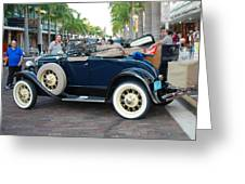 Classic Antique Convertable Greeting Card