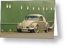 Classic Beetle 7 Greeting Card