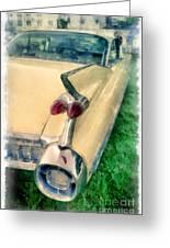 Classic Caddy Fins Greeting Card