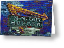 Classic Cali Burger 2.2 Greeting Card