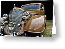 Classic Car - 1935 Buick Victoria Greeting Card