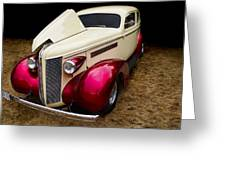Classic Car - 1937 Buick Century Greeting Card