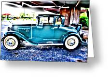 Classic Car 2 Greeting Card