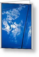 Classic Car Blue - 09.20.08_330 Greeting Card