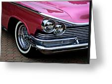 Classic Car Collection Greeting Card