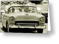 Classic Car Greeting Card