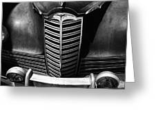 Classic Car Packard Grill Greeting Card