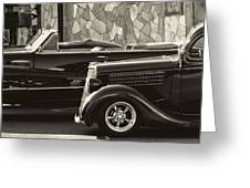 Classic Car Show Greeting Card