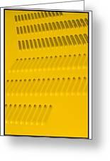Classic Car Yellow - 09.20.08_468 Greeting Card