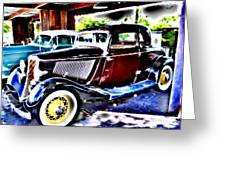 Classic Cars 2 Greeting Card
