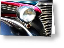 Classic Cars Beauty By Design 1 Greeting Card