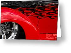Classic Cars Beauty By Design 11 Greeting Card