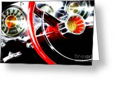 Classic Cars Beauty By Design 4 Greeting Card