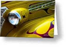 Classic Cars Beauty By Design 5 Greeting Card