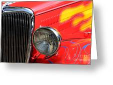 Classic Cars Beauty By Design 8 Greeting Card