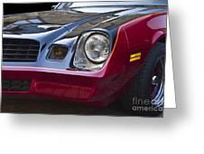 Classic Chevrolet Camaro Greeting Card
