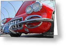 Classic Chevrolet Corvette Automobile Greeting Card