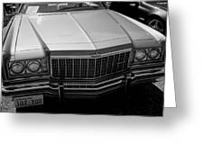 Classic Chevy Caprice  Greeting Card