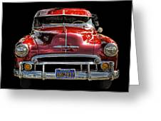 Classic Chevy  Greeting Card