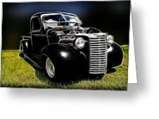 Classic Chevy Truck Greeting Card