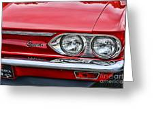 Classic Corvair Greeting Card