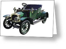 Classic De Dion Bouton Classic Car Greeting Card