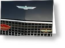 Classic Ford Thunderbird Greeting Card