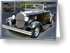 Classic Ford Greeting Card